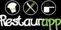 Restaurapp logo licht