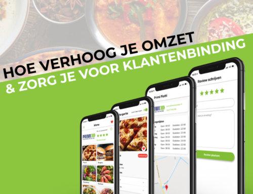 Omzetgroei en klantenbinding met een horeca app in 2020