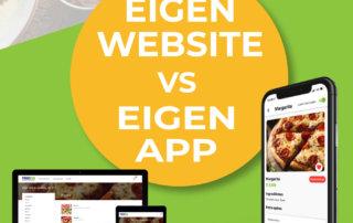 Restaurant website vs restaurant app