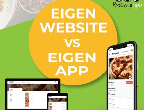 Bestel app vs bestelwebsite, de voor en nadelen op een rij