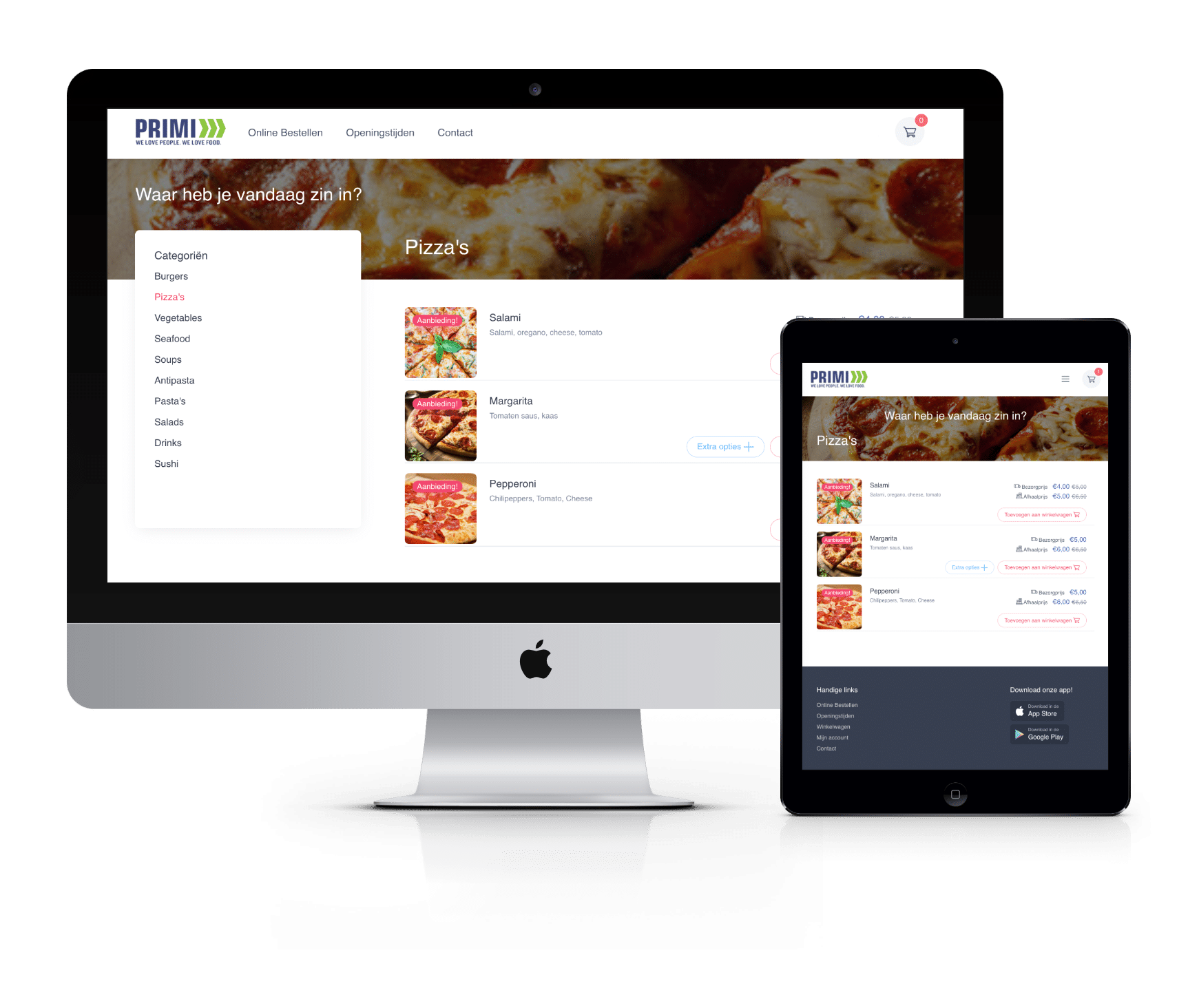 restaurant app als thuisbezorgd alternatief