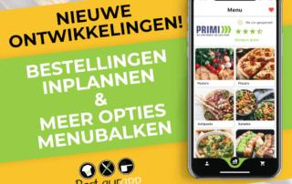 Banner Nieuwe ontwikkelingen Restaurapp