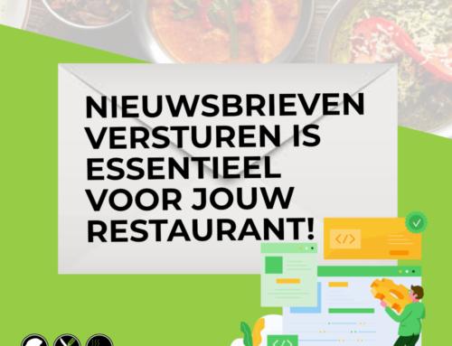 Nieuwsbrieven versturen is essentieel voor jouw restaurant!