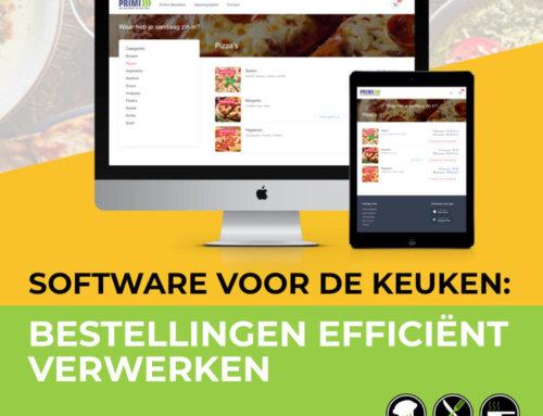 Software voor keuken: Bestellingen efficiënt verwerken