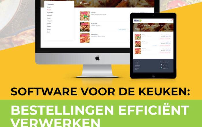 Banner Software voor de keuken: Bestellingen efficiënt verwerken